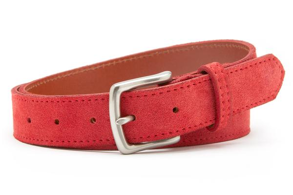 RED BELTS: character color is very trendy!