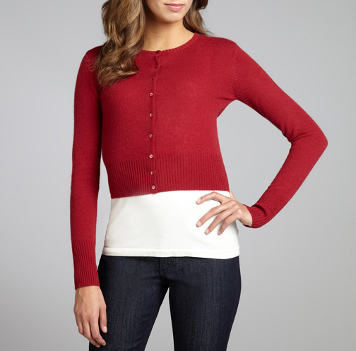 Insomniac Sale Picks: Cropped Red Cardigans - Already Pretty | Where