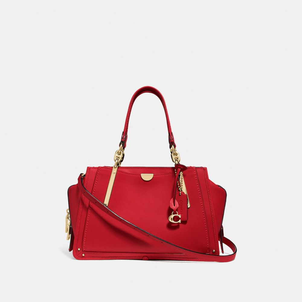 Red handbags set great accents