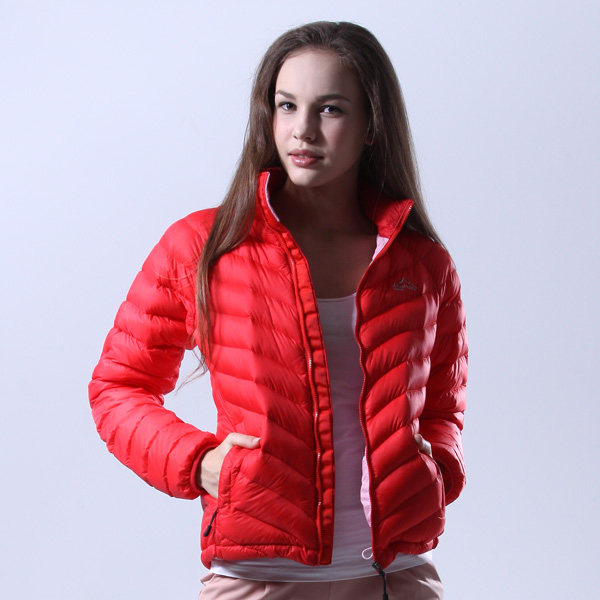 Top-down jacket patented functional jacket (female) red [mont00017