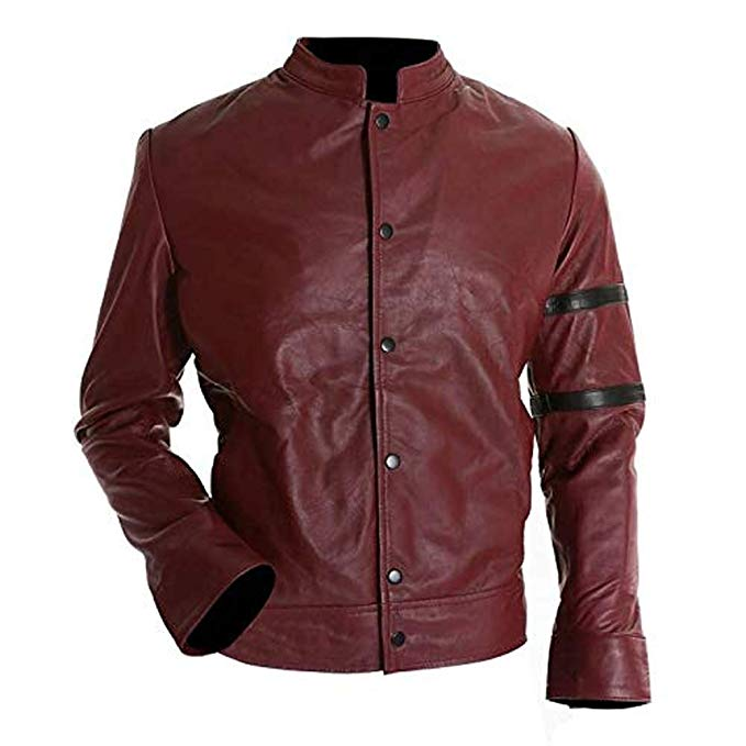Red Leather Jacket | Leather Jackets for Mens | Red Jackets for Boys