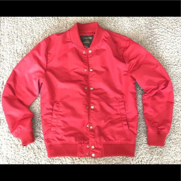Forever 21 Jackets & Coats | Red Mens Jacket | Poshmark