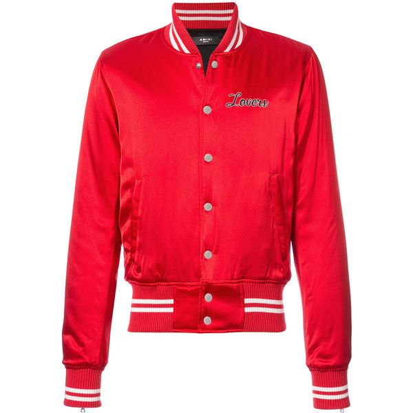 Amiri Lovers bomber jacket ($2,290) ❤ liked on Polyvore featuring