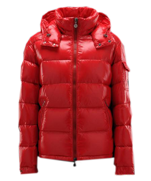 Moncler Maya Winter Mens Down Jacket Fabric Smooth Red - $234.00