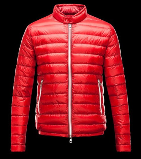 Moncler Mens Jacket Down Jackets red - Down Vests nqfafadf