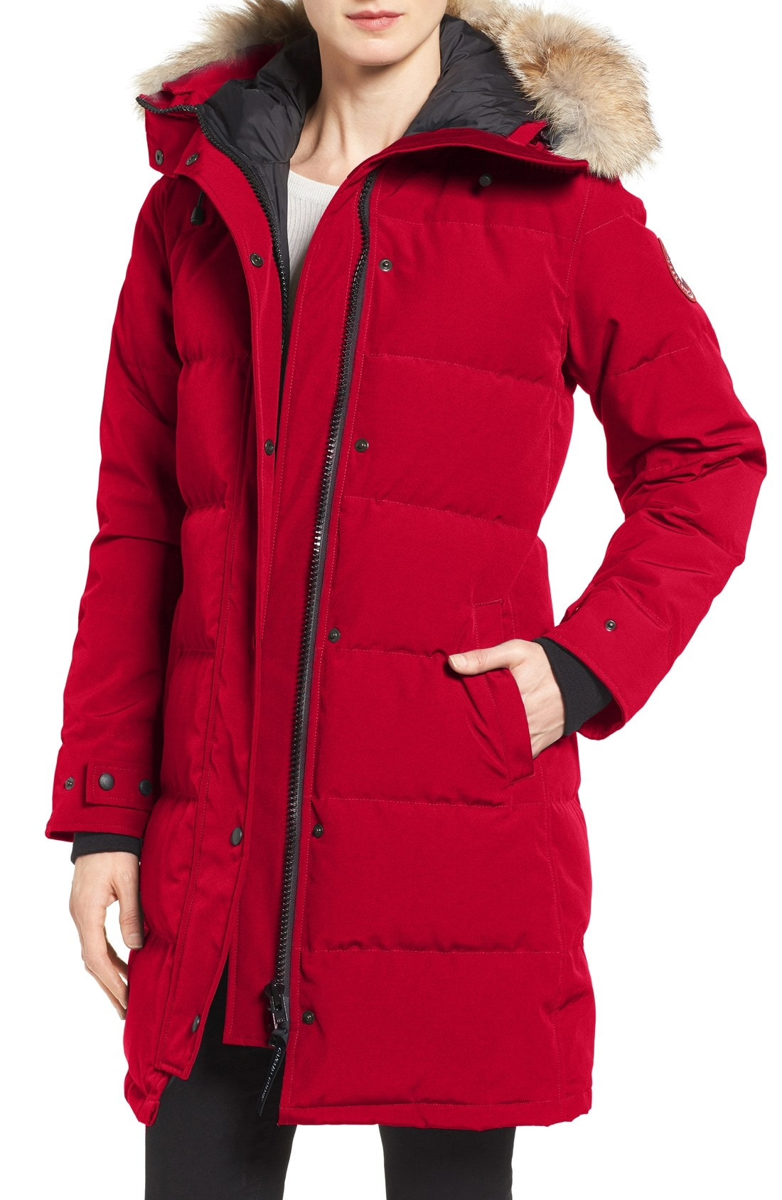 RED PARKAS – A good choice for fashionistas