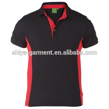 Black And Red Polo Shirt Design,Work Polo Shirts - Buy Polo Shirt