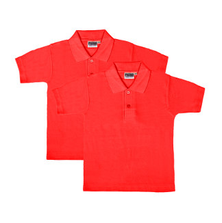 UD - Value RED Polo Shirts - TWIN PACK