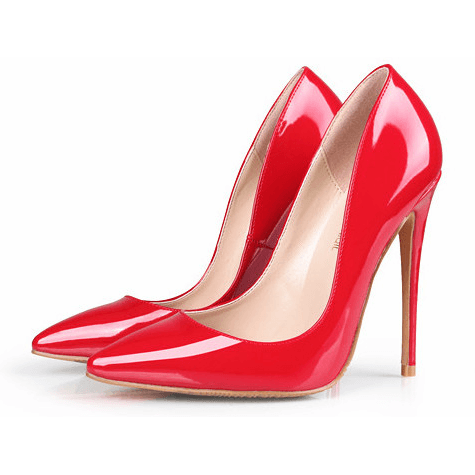 Woman High Heels Trendy Party Wedding Red Shoes Fashion Stilettos