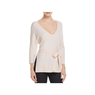 Shop French Connection Womens Rosa Pullover Sweater V-Neck Dolman