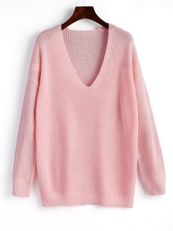 Sweater in pink: classic serious or relaxed sporty