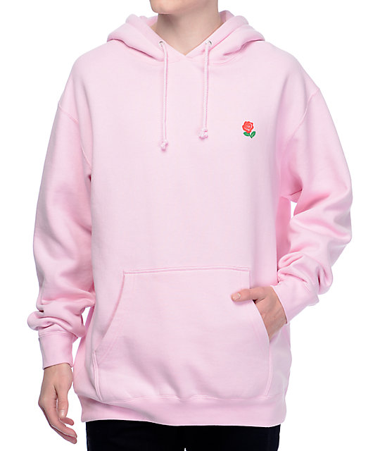 The Hundreds Rose Fill Slant Pink Hoodie | Zumiez