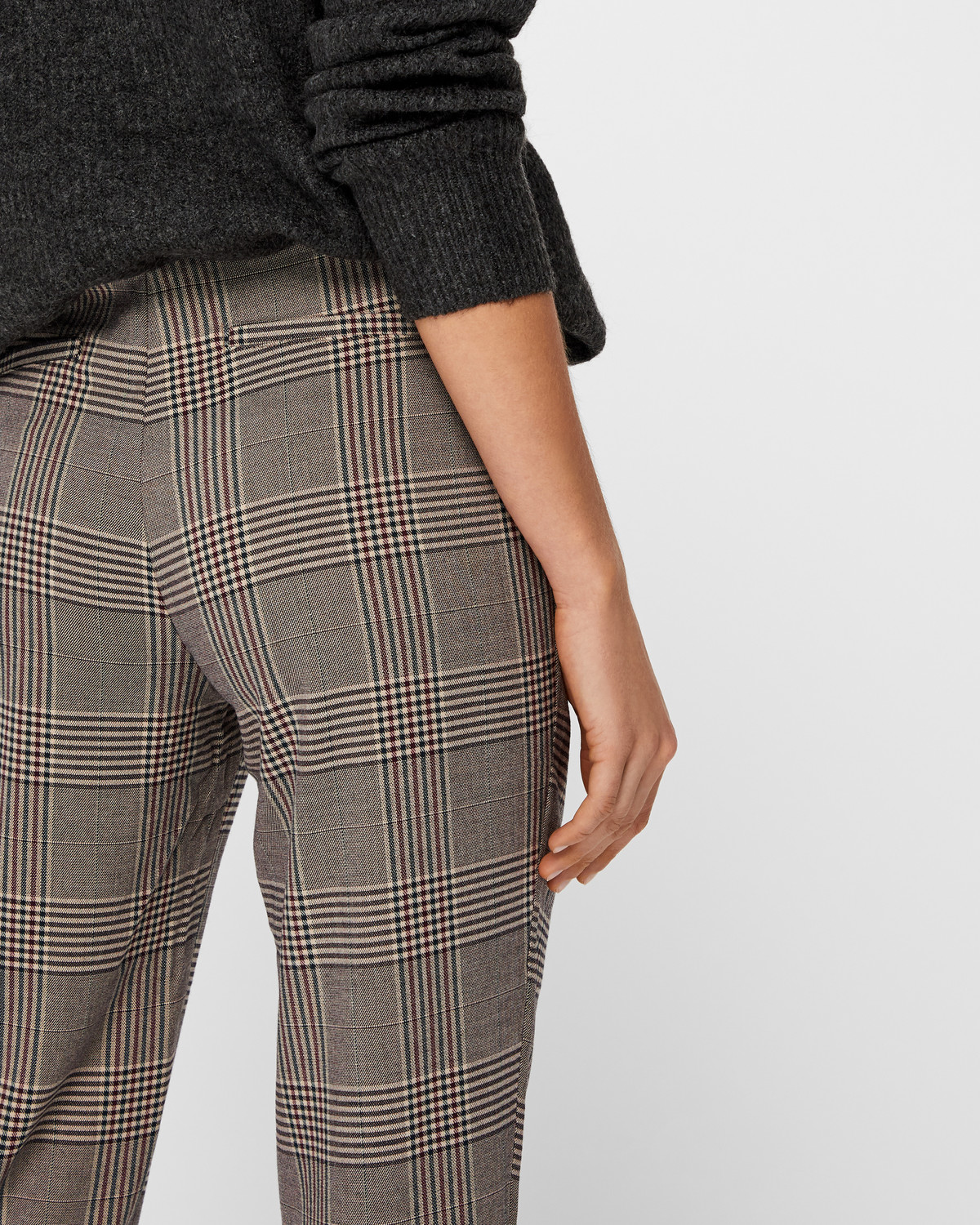ONLY Rosa pants - Regular fit - Gray | Buy today at STYLEPIT