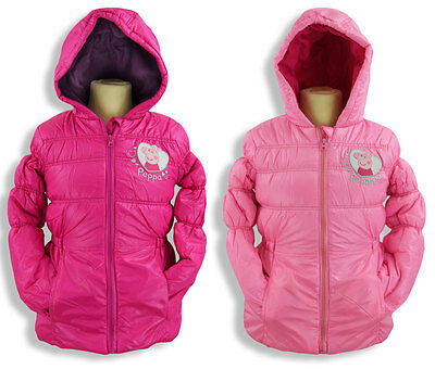 SWEET PEPPA WUTZ Jacket, Rosa or Pink, Quilted Winter Jacket with