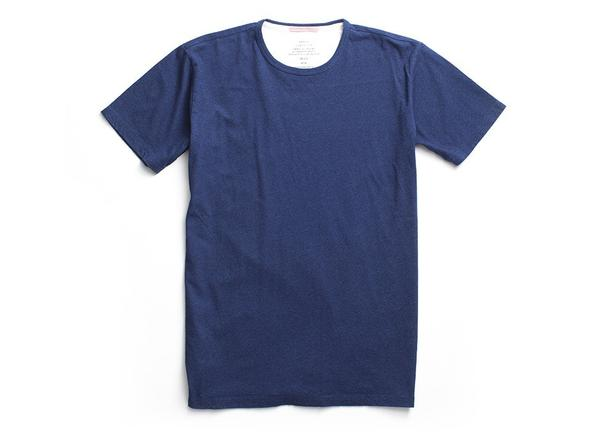 Apolis | Indigo Crew Neck T-Shirt