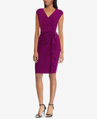 American Living Cap-Sleeve Ruffled Dress & Reviews - Dresses - Women