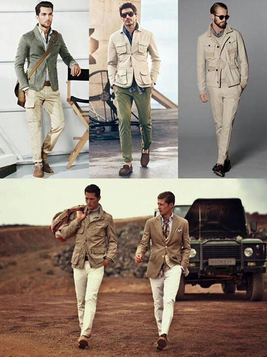 Safari wear for men | Dress to Impress | Safari outfits, Safari