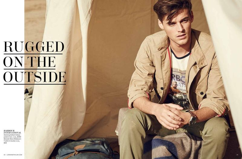 Robbie Wadge Embraces Modern Men's Safari Styles with Lord & Taylor