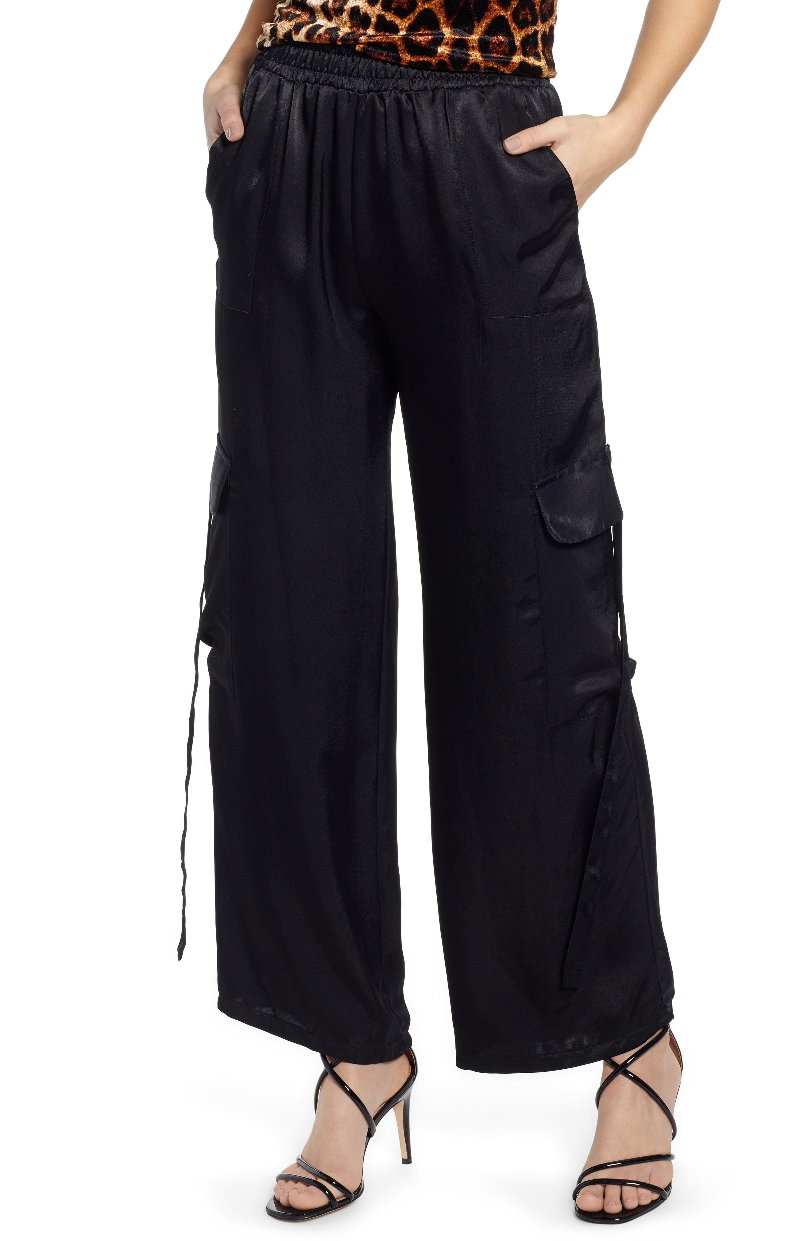 Satin Trousers