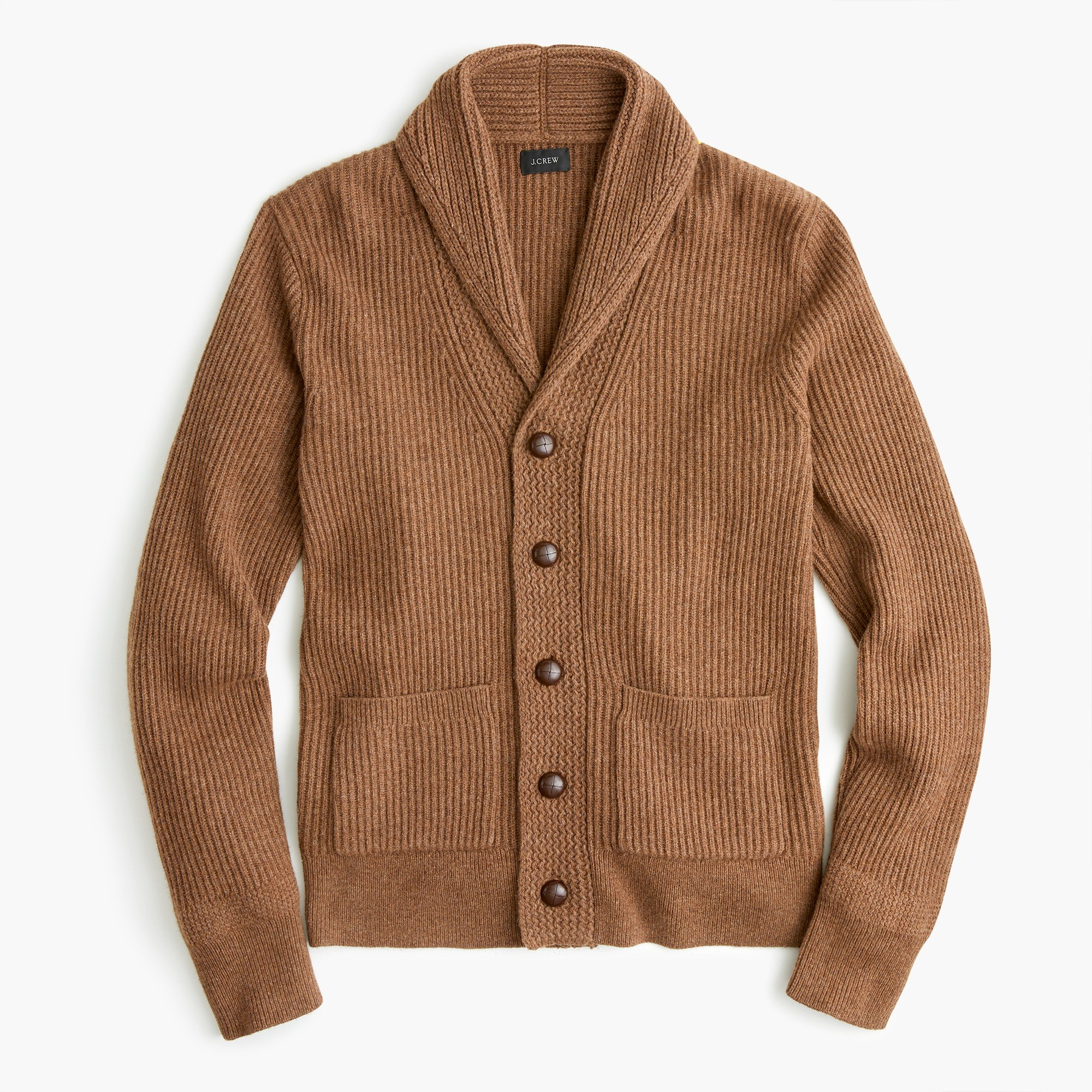 Rugged merino wool shawl-collar cardigan sweater : Men cardigan | J.Crew