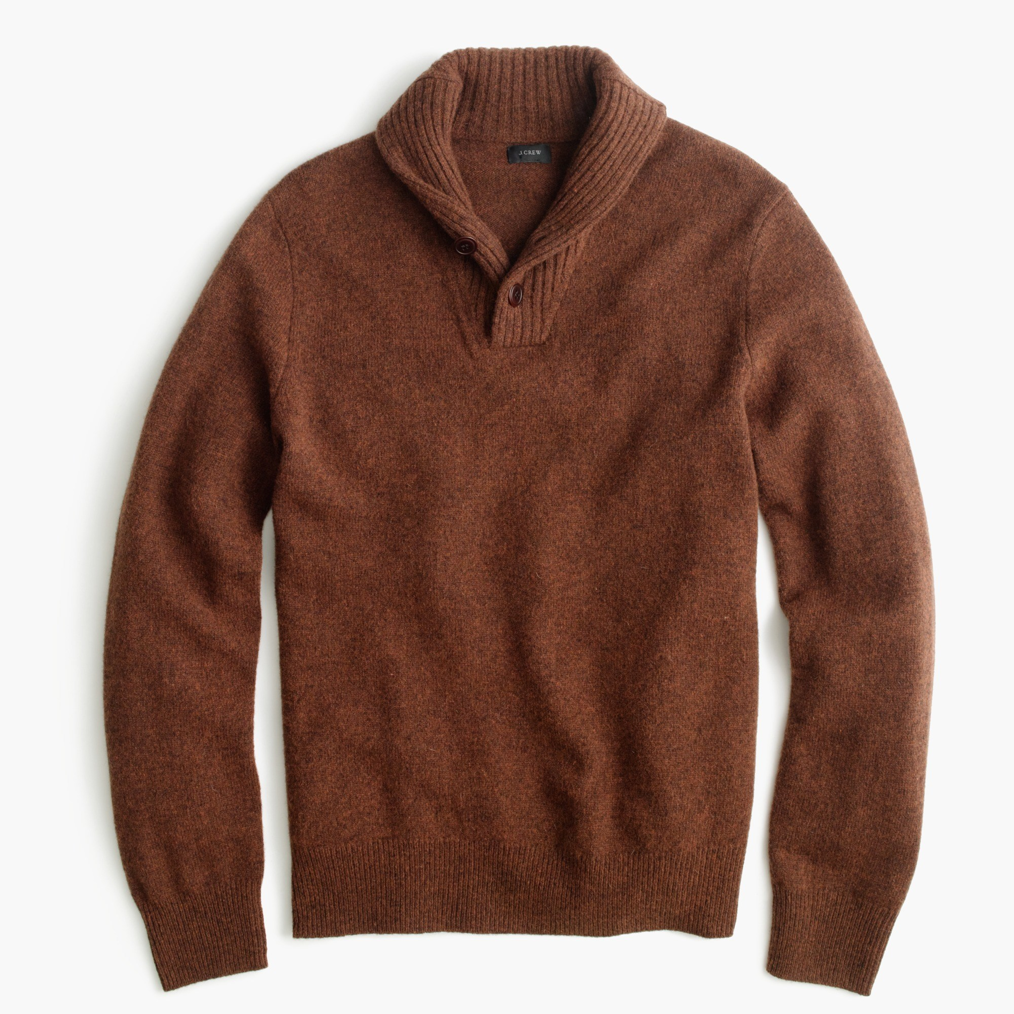Lambswool Shawl-Collar Sweater : Men's Sweaters | J.Crew