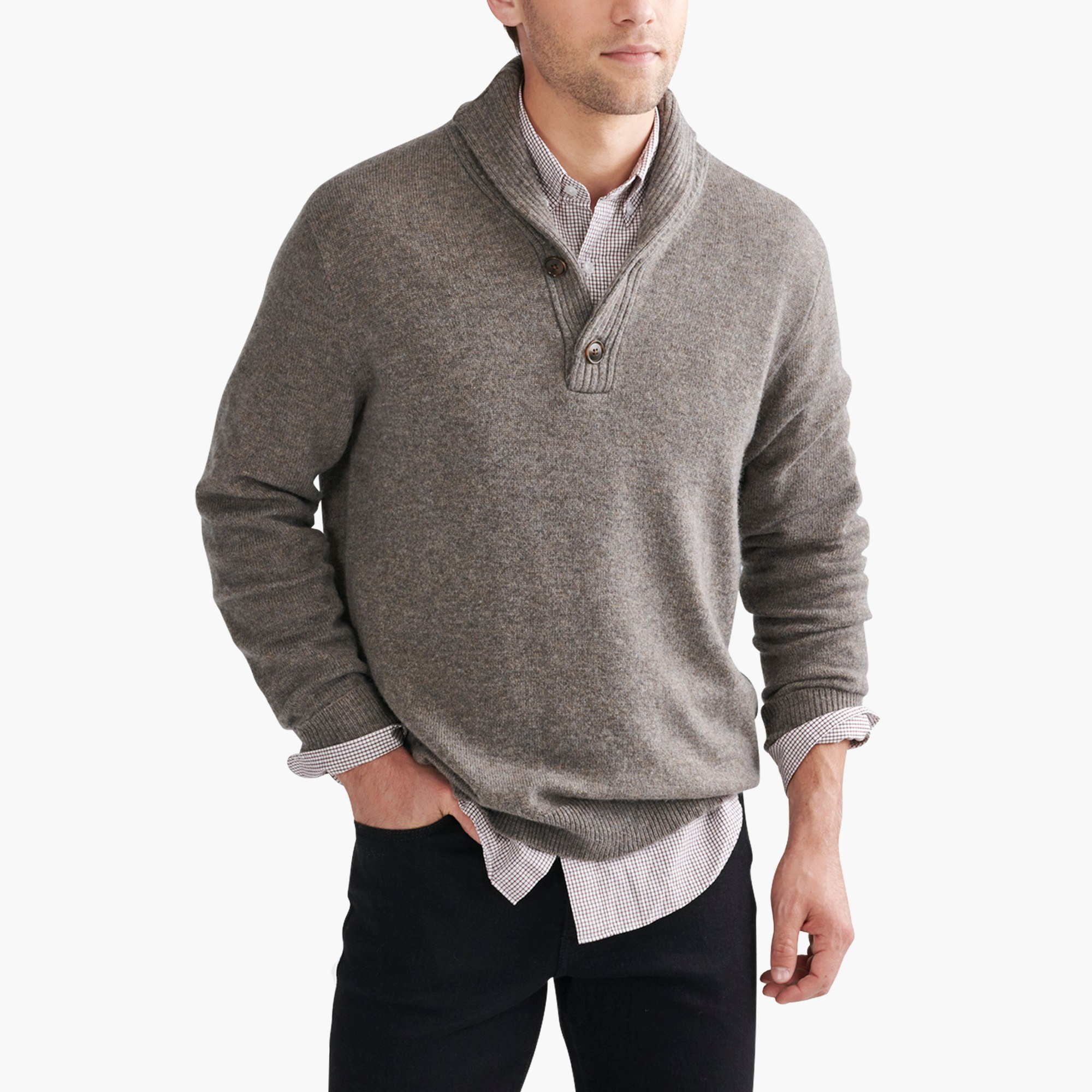 Shawl Collar Sweaters