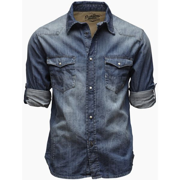 See this and similar Jack & Jones men's casual shirts - Denim shirt