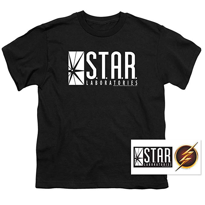 Amazon.com: Youth Flash Star Labs Superhero S.T.A.R. Laboratories T