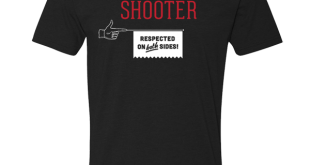 Straight Shooter T-Shirt - Crooked Media