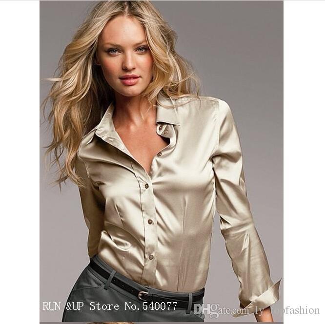 Silk blouse – refined fashion made of precious material