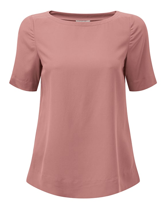 Silk T-Shirt | Tops & Camisoles | Pure Clothing | from Pure