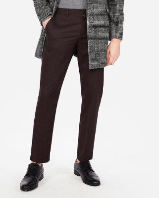 Slim Stretch Wrinkle-resistant Lightweight Flannel Dress Pant | Express