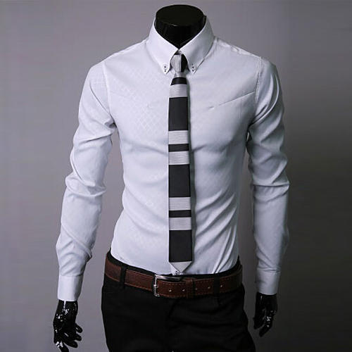 Men Slim Fit Shirt at Rs 550 /piece | Raj Nagar 2 | New Delhi | ID