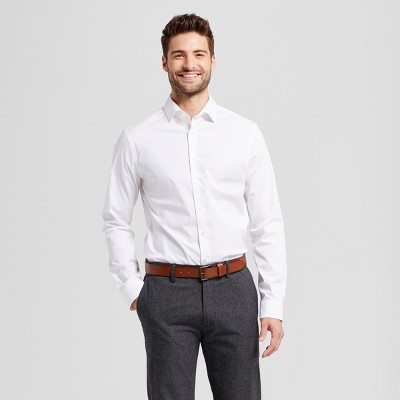 Men's Slim Fit Button-Down Dress Shirt - Goodfellow & Co™ : Target