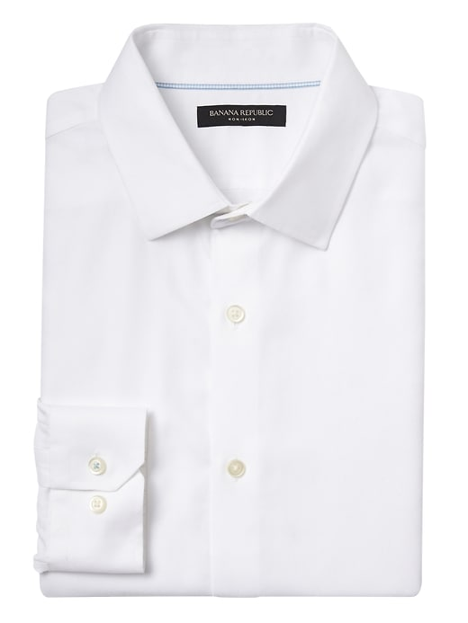 Grant Slim-Fit Non-Iron Dress Shirt | Banana Republic