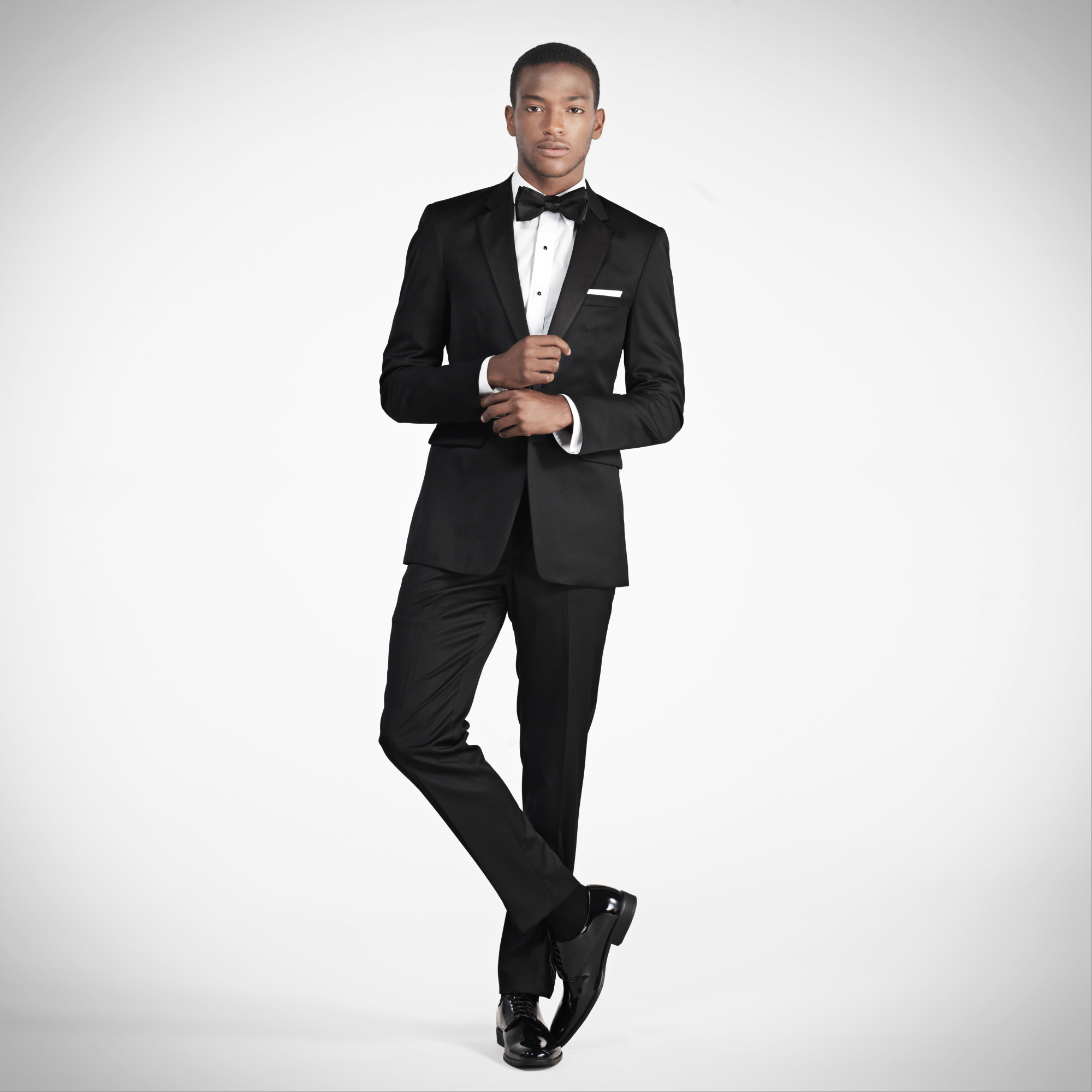 Men's Slim Fit Tuxedo Rental | Notched Lapel Tux