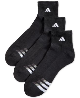 adidas Men's Cushioned Performance 3-Pack Quarter Socks & Reviews