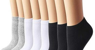 8 Pairs Womens Ankle Socks No Show Socks Women Socks Casual Socks