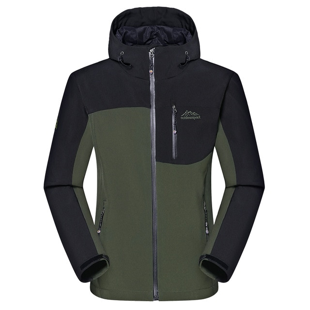 Men's Winter Thick Softshell Jackets Male Outdoor Sports Coats