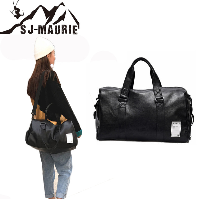 SJ Maurie Gym Shark Womens Bag for Sport Pu Leather Shoes Bags Women