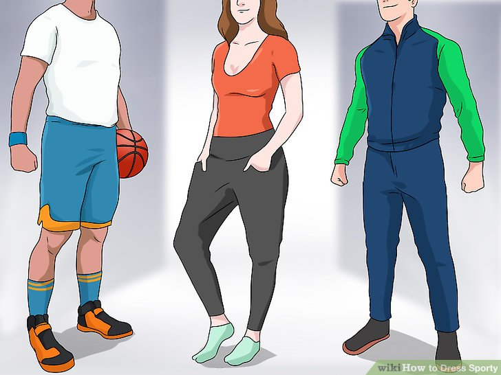 How to Dress Sporty: 13 Steps (with Pictures) - wikiHow