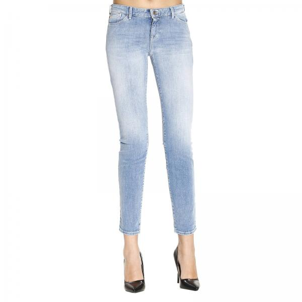Stone Washed Jeans Women