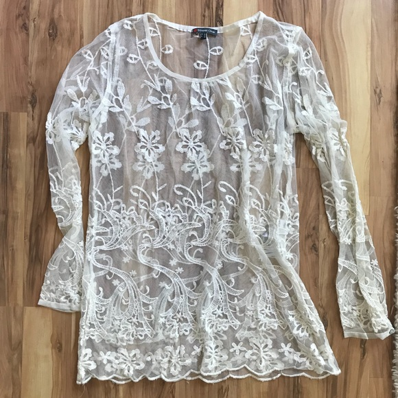 Street One Dresses | Lace White Mini Dress | Poshmark