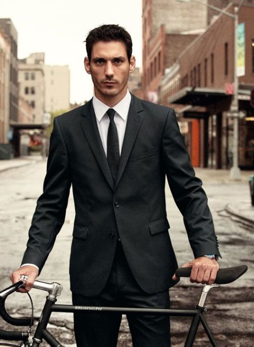 Strellson Bike Suit - a suit made with technical fabrics and
