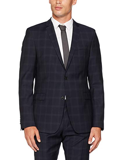 Strellson Men's 11 Cale 10003944 Suit Jacket, Blue (Navy 412), 52