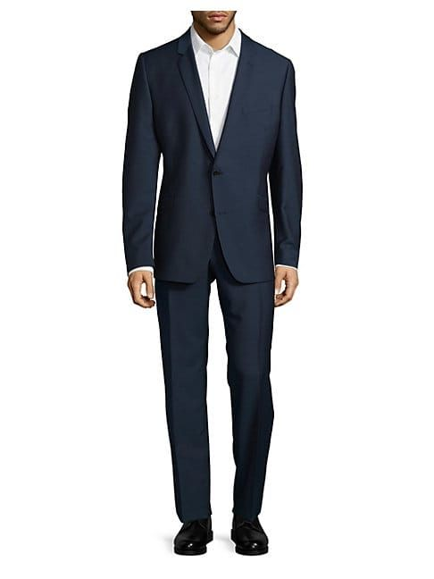 STRELLSON TEXTURED WOOL SUIT. #strellson #cloth | Strellson