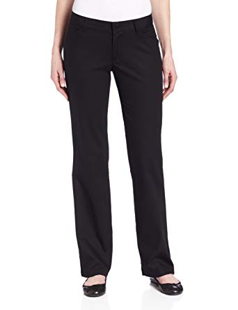 Dickies Women's Relaxed Straight Stretch Twill Pant at Amazon