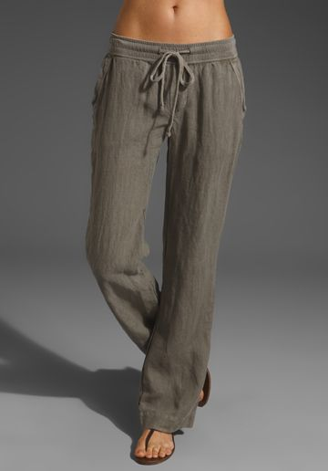 want) Comfy & stylish --live on linen pants during spring and summer