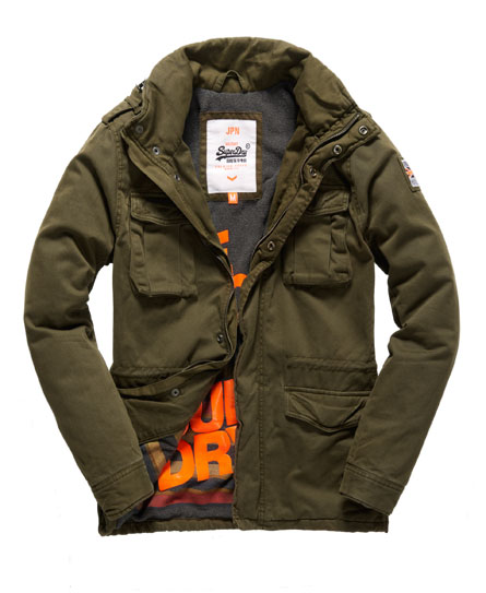 superdry thor for sale, Mens superdry winter rookie jacket dark army