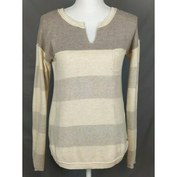 Eddie Bauer Sweaters | Pull Over Sweater With Breast Pocket | Poshmark